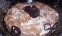Torta al mascarpone e cioccolato
