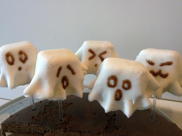 Ricette di Halloween: Fantasmini dolci