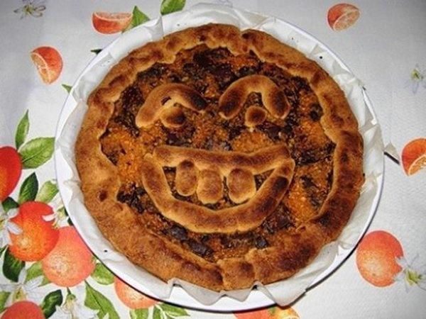 Ricette di Halloween: crostata dolce alla zucca