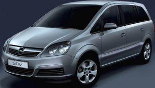 Opel Zafira: prima auto turbo a metano