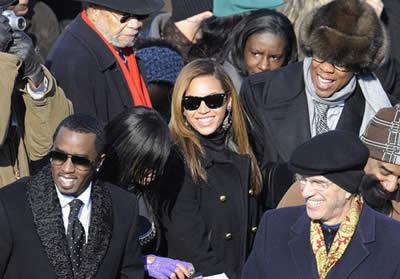 Beyoncé alla festa di Obama