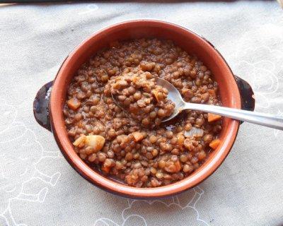 Lenticchie al pomodoro - Cucinare le lenticchie ...