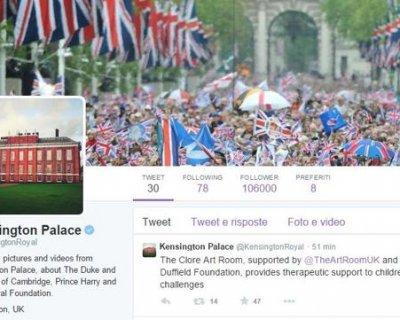 William e Kate approdano su Twitter