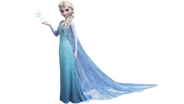 Il costume di Carnevale di Elsa di Frozen