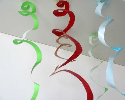 Decorazioni di carnevale di carta