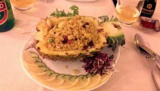 Insalata di Riso nell'Ananas