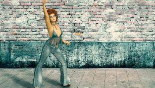 Pantaloni a zampa: il grande ritorno