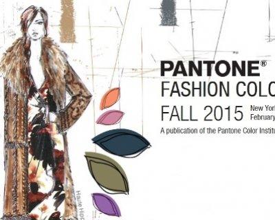 Colori Pantone, ecco le cromie di tendenza per l'autunno 2015