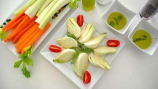 Pinzimonio con Verdure Bianche