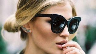 Occhiali a farfalla: la tendenza eyewear del 2015