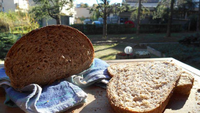 La ricetta del pane integrale con pasta madre