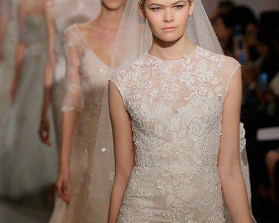 7ed303ffbd88 I migliori abiti da sposa in pizzo per il 2015  le proposte degli stilisti