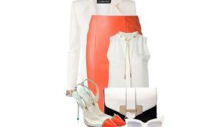 Look della settimana: White&Orange