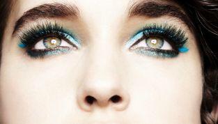 Make up azzurro, il trend occhi per la primavera estate 2015