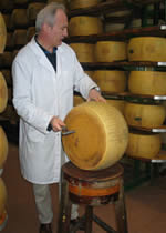 Controllo Parmigiano Reggiano