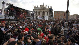 Roma e Taranto, due concerti del Primo Maggio a confronto