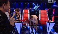 The Voice of Italy 3: Francesco Facchinetti si tatua in diretta