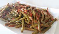 Fagiolini in umido come contorno vegetariano
