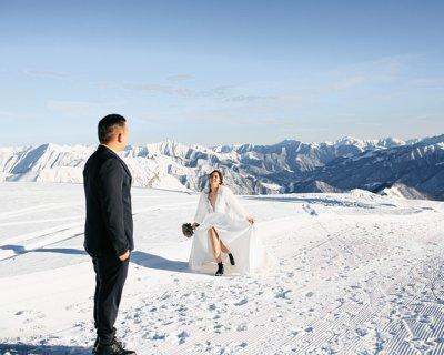 a7a17329ba Matrimonio in inverno, una cerimonia magica