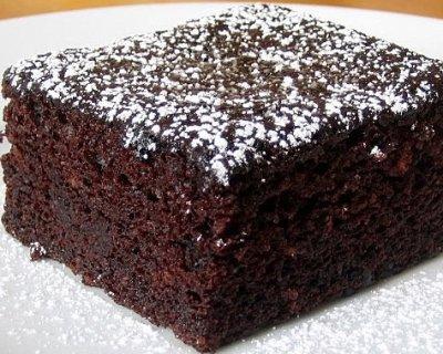 Torta di cioccolato fondente