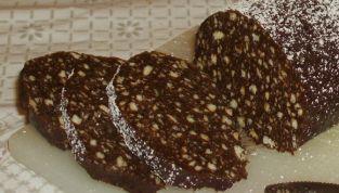 Salame di cioccolato e marmellata