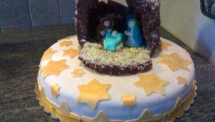 Torta presepe