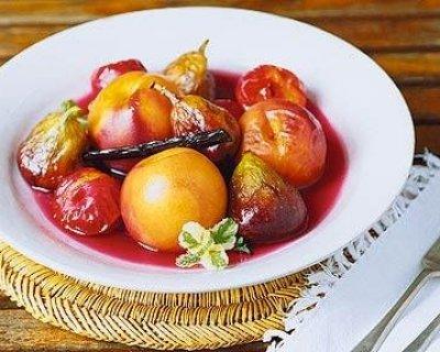 Frutta Aromatizzata alle Spezie