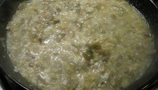 Zuppa di Riso e Carciofi