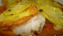 Persico in crosta di patate - Ricetta persico in crosta di patate
