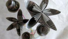 Creare fiori di carta per la maestra