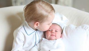 George e Charlotte insieme: la prima foto ufficiale dei principini