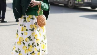 Frutta su abiti e accessori: tendenza moda dell'estate 2015