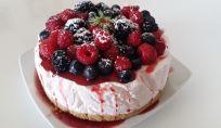 Ricetta della cheesecake ai frutti di bosco