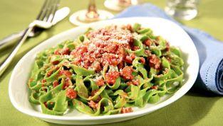 Pappardelle di spinaci