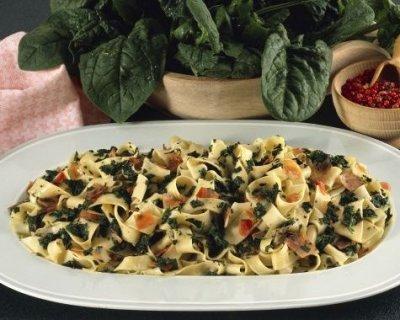 Linguine agli spinaci