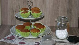 Muffin al pistacchio, l'oro verde della Sicilia