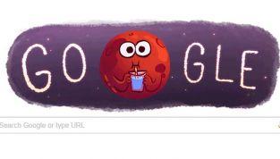 Acqua su Marte: Google lo annuncia con un Doodle