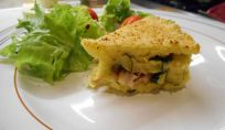 Gateau di patate con zucchine e pancetta, un piatto goloso per ogni occasione