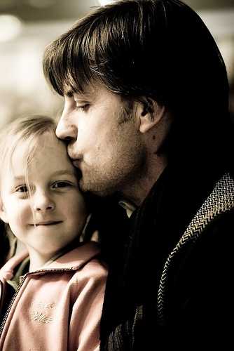 Papà e figlia
