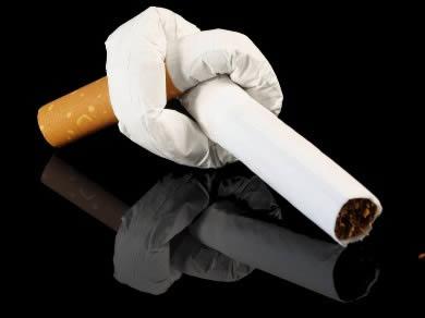 Come smettere di fumare alla donna e non crescere robusto
