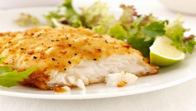 Ricciola con salsa all'aglio
