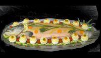 Salmone decorato
