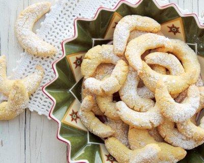 Biscotti Di Natale Tedeschi Ricetta.Vanille Kipferl I Biscotti Di Natale Alla Vaniglia