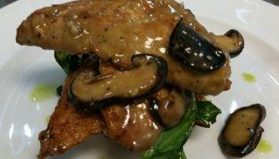 Filetti di vitello con funghi porcini