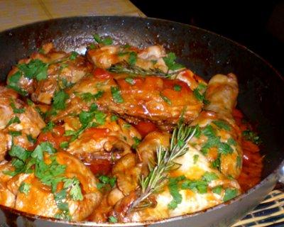 Pollo alla cacciatora (ricetta originale)