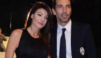 Ilaria D'Amico e Gigi Buffon genitori di Leopoldo Mattia