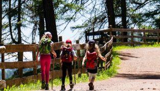 Vacanze estive in montagna con i bambini