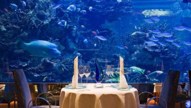I ristoranti più strani al mondo, il cibo è quasi un optional