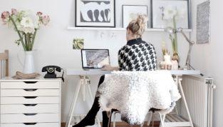 Una postazione perfetta per chi lavora da casa: come deve essere l'home office