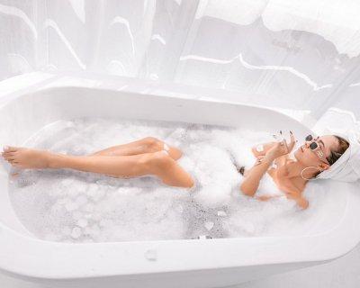 il bagno di sale e le sue molte propriet anche un anticellulite naturale